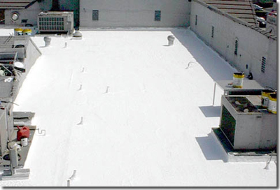 C U0026 M Can Rejuvinate Your Old Flat Roof And Reduce Roof Temp By 40%.